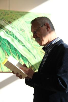 """Jan Bontje leest uit de bundel """"Uit vrije dwang""""enkele gedichten van Aboe l-Alaa al-Ma'arri"""