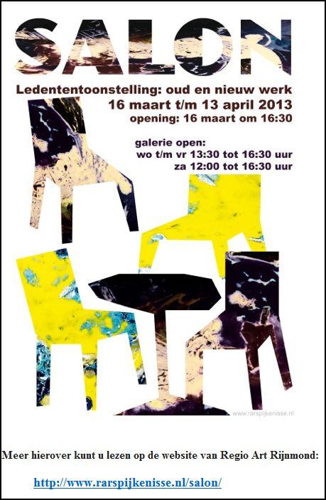Tentoonstelling SALON 16-03-2013 opening