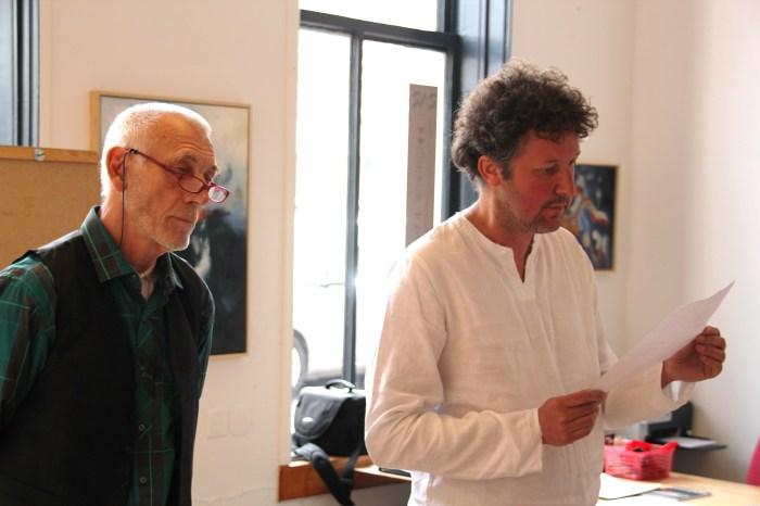 GRASUI: Jan van der Laar (l) en Rob Dijkstra (r)