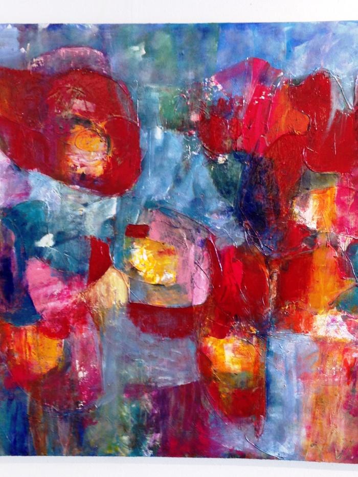 Een van de schilderijen van Conny Paap; hierop werd ik meteen verliefd...