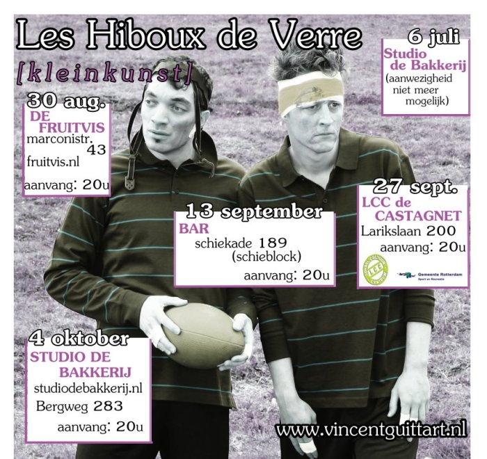 Les Hiboux de Verre poster 2013