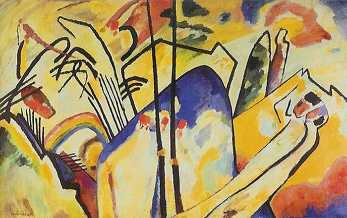 Wasslili Kandinsky Compositie nr. 4 uit 1911