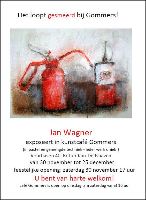 Expositie Gommers van Jan Wagner