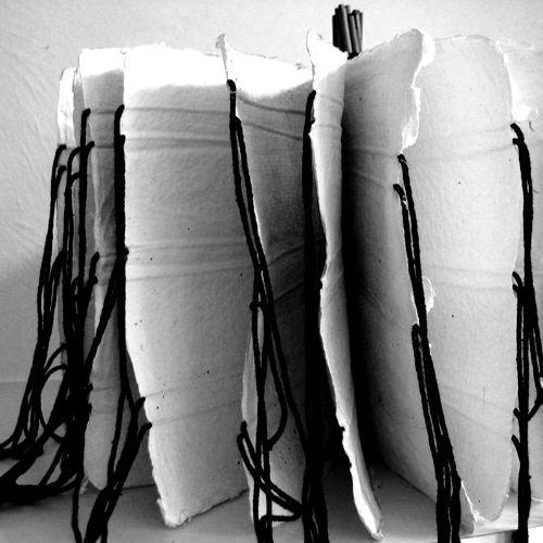 Elise Kloppers - Boekobject handgeschept papier