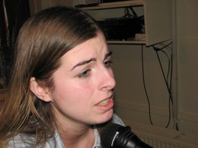 Aanstormend talent: de zeventienjarige singer-songwriter LizzyV