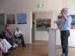 Koos Verkerk tijdens zijn kooserie.