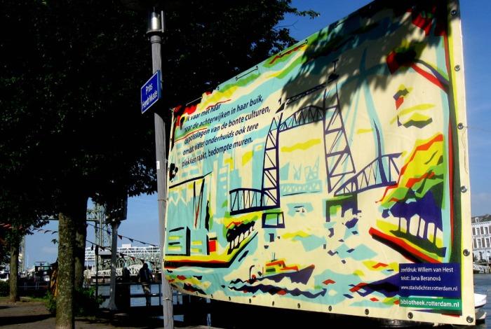 Gedicht van Jana Beranová over de Hef in Rotterdam