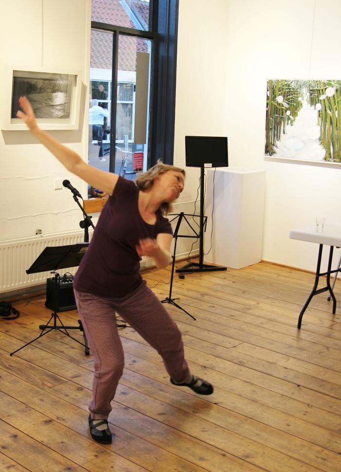 Nettie Boogaard: ook dans is beeldende kunst...