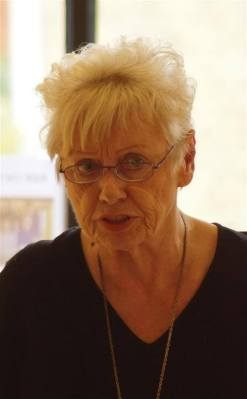 De vaste columniste van LiteRAR, Astrid van der Star, was gelukkig ook weer aanwezig./
