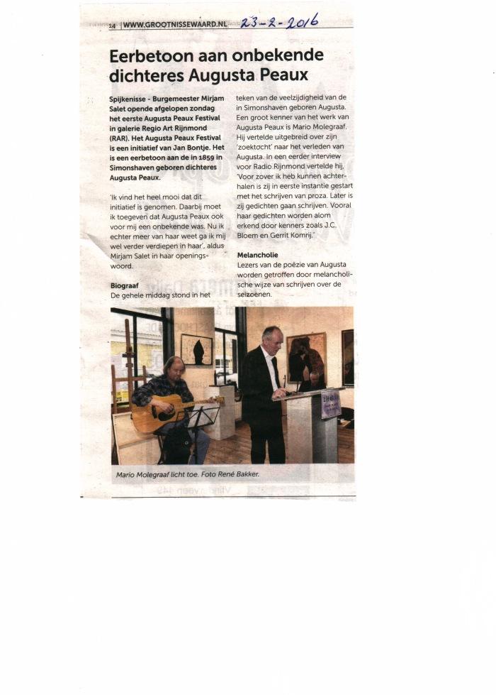 De burgemeester van Nissewaard, Mirjam Salet ,en presentator Jan Bontje genoten...