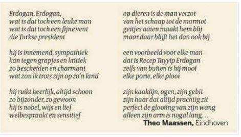 erdogan gedicht van Theo Maassen