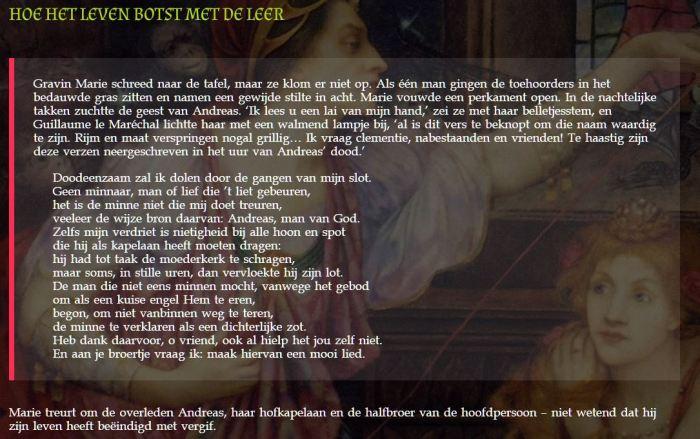 Fragment uit de roman ELEONORA EN DE LIEFDE van Pim Wiersinga